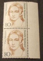Bund 1305 Clara Schumann   80 Pf