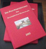 Bund Postwertzeichen der Bundesrepublik 2001  -  Ausgabe der DPAG   **