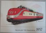 1957 - Baureihe 601 TEE-Dieseltriebzug