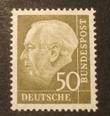 Bund 0261xv 50 Pf Heuss II