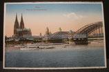 AK Köln - Kölner Dom - Hohenzollernbrücke  - ng