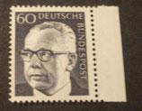 Bund 0690 Heinemann  60 Pf