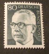 Bund 0642 Heinemann  80 Pf