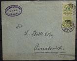 DR 0328 A  MEF Brief 20 Milliarden  -   24.11.1923 TS Görlitz -> Osnabrück
