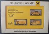 Brekina Serie 006  -  Modellautos für Sammler - Deutsche Post
