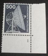 Bund 0859  500 Pf   I+T ERur mit Formnummer