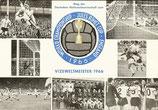 Fußball WM 1966  -  Sonderkarte mit Sonderstempel