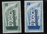 Bund 0241f CEPT 1956 (2 Werte)