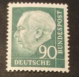 Bund 0265xw 90 Pf Heuss II