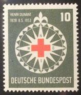 Bund 0164  Henri Dunant 125. Geburtstag **