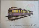 1932 - Baureihe SVT 877 Fliegender Hamburger