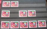 Bund 0713 30+15 Pf aus Jugendsatz 1972  gestempelt