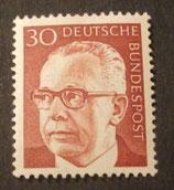 Bund 0638 Heinemann  30 Pf
