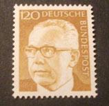Bund 0691 Heinemann 120 Pf