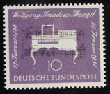 Bund 0228 200. Geburtstag Wolfgang Amadeus Mozart