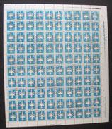 DDR 2831 Bogen gestempelt