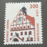 Bund 2141  300 Pf / 1,53 €  Rathaus Grimma