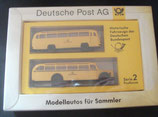 Brekina Serie 002  -  Postbusse Modellautos für Sammler - Deutsche Post