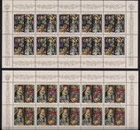 Bund 1831-1832 KLB  Weihnachten 1995 (2 Werte)