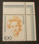 Bund 1955 Elisabeth Schwarzhaupt  100 Pf