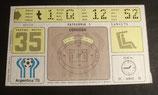 Fußball WM 1978  - Spiel 35 - Eintrittskarte - Die Schmach von Cordoba - Ticket