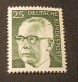 Bund 0689 Heinemann  25 Pf