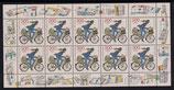 Bund 1814 KLB  200 + 100 Pf   Postzustellerin Tag der Briefmarke