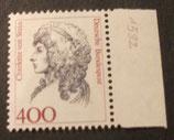 Bund 1582 Charlotte von Stein 400 Pf