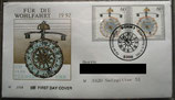 BD 1631-1635 5 FDC Wohlfahrt 1992