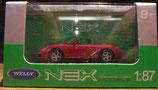 Welly Nex  VW Porsche Boxster S