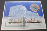 Bund 2229f Block  57   100 Jahre dt. Antarktisforschung  gestempelt