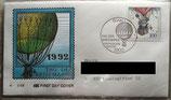 BD 1638 FDC Tag der Briefmarke 1992