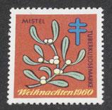 Vignette Tuberkulose 1960 Mistel