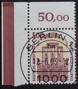 Bund 1679 SWK 500 Pf ERol  VETS Berlin 12