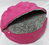Deluxe-Höhle-Bezug  80 pink-grau