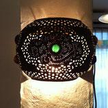 真鍮壁掛けランプシェード 半円