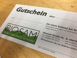 BioSam Gutschein