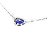 魅惑のタンザナイトSV925ネックレス【Pio by Parakee】tanzanite necklace