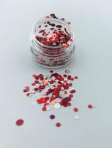 059003 Dotties | Confettie 2,7 cm (rood, wit )
