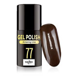 030077 Topline Gellak Hickory Brown 5ml, Beauty of Noelle©