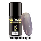 030012 Topline Gellak Licht Steel Grey 5ml, Beauty of Noelle©
