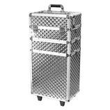 077004 Trolley 3D Zilver