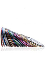 058005 Striping tape multi color 1mm  30 stuks | zak