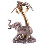 """79841 Elefant unter Palme  """"Dante""""  25 cm"""