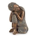 """80584 Buddha """"Revata"""" sitzend 26 cm"""