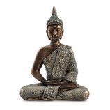 """80581 Buddha """"Mangala"""" sitzend M 28cm"""