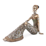 Africa Decofigur Women sitzend 30 cm