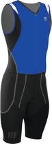 CEP Herren Triathlon Compression Skinsuit - Blau/Schwarz