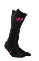 CEP Damen Riding Compression Socks - Pink/Schwarz