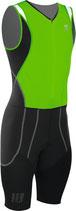 CEP Herren Triathlon Compression Skinsuit - Grün/Schwarz